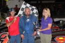 Seth Fischer, Wagner (S.D.) Speedway's winningest driver, died June 28 in a swimming accident. (Casta Myers)