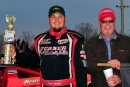 David McCoy earned a $1,500 Southeastern Late Model Sportsman Series victory Nov. 22 at Travelers Rest (S.C.) Speedway. (focusedonracing.com)