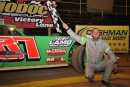 Walker Arthur collected $5,000 on March 28 for his Modoc 100 Crate Late Model victory at Modoc (S.C.) Raceway. (Richard Barnes)