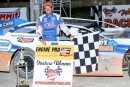 Steve Casebolt picked up his first career Attica (Ohio) Raceway Park victory April 17 in Sunoco American Late Model Series action. (Action Photos)
