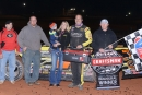 Shane Clanton's team captured Feb. 12's World of Outlaws Craftsman Late Model Series season opener at Screven Motor Speedway. (dt52photos.com)