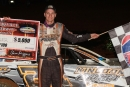 Ryan Unzicker picked up $5,000 June 28 at Clarksville (Tenn.) Speedway for his eighth career UMP DIRTcar Summernationals victory. (Jim DenHamer)