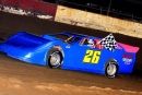 Albany (Ga.) Motor Speedway race director Skip Pannell drove a 2001 Dominator Chassis to an Oct. 22 victory in the track's Gary Patnaude Memorial. (South Georgia Racing)
