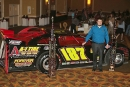 David McCoy was honored as Fastrak's weekly champion for Crate Late Model racers Jan. 21 at the Park Vista Hotel in Gatlinburg, Tenn. (wellsracingphotos.com)