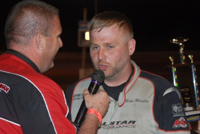 Mike Marlar talks about his third straight Spring Sizzler victory. (DirtonDirt.com)