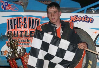 Mike Pegher Jr., 23, earned $1,500 for his victory. (Todd Battin)
