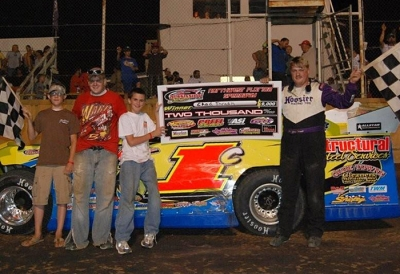 Chad Thrash picked up his second victory of 2009. (Tammy Davis)