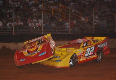 This contact with Vic Coffey (32c) sent Tim McCreadie rolling. (stivasonphotos.com)