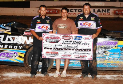 Darrell Lanigan's crew topped the Integra crew challenge. (stivasonphotos)