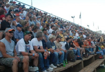 Fans packed Tyler County's stands in '08. (DirtonDirt.com)
