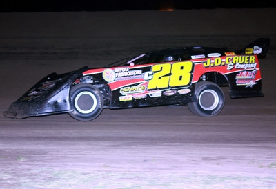 Kenny Merchant heads for victory at Greenville. (Kristi Best)