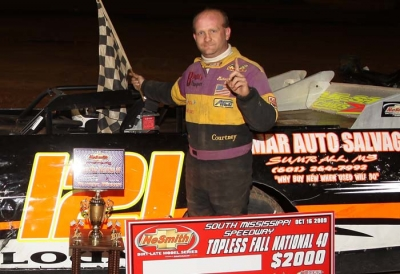 Michael Blount notched his biggest Crate Late Model victory. (Left Turn Photos)