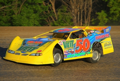 Jeff Wildung gets rolling Saturday at Viking Speedway. (Todd Torfin)