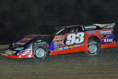Ray Moore heads for victory at I-30. (Woody Hampton)