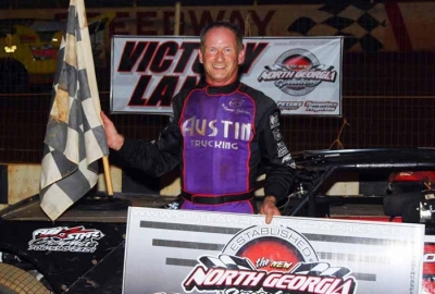 Ronnie Johnson wins again at North Georgia. (photobyconnie.com)