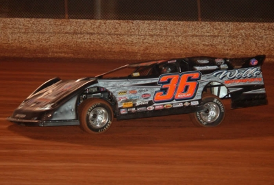 Mike Marlar heads for victory at Ponderosa. (Jimmy Pittman)