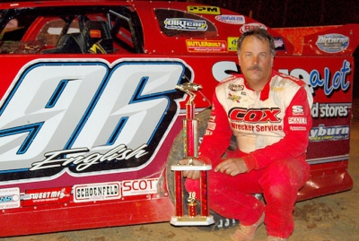 New track record-holder Terry English earned $3,000 at Duck River. (Robert Holman)