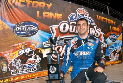 Josh Richards took a 22-point lead in the WoO title chase with Wednesday's victory. (World Racing Group)