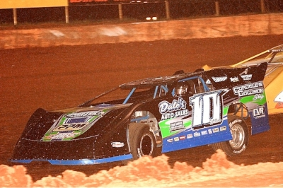 Chris Wilson heads to victory at Smoky Mountain. (Brian McLeod)
