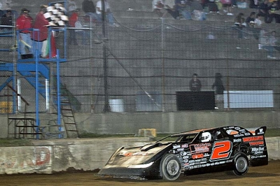 Brady Smith will return to WoO action Friday night at Hartford Motor Speedway. (Jim DenHamer)
