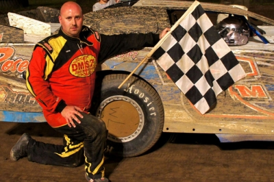 Michael Davis captured one of the twin features at PPMS. (racingweb.com)