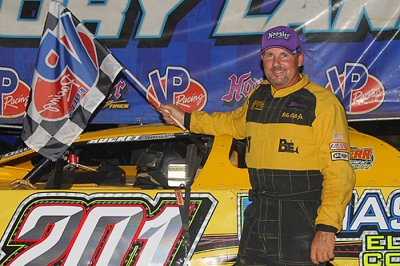 Billy Ogle Jr. scored a $5,000 victory at Cleveland. (mrmracing.net)