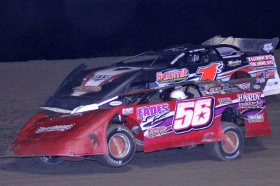 David Gentry (56) leads Jeremy Shaw (1s) at Greenville. (Best Photography)