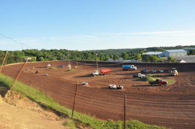 Improvements have continued during the off-season at I-77 Raceway Park.