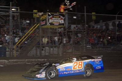 Dennis Erb Jr. scores a $10,000 victory at Volusia. (stlracing.com)
