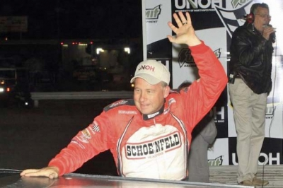 Steve Francis won a Speedweeks-best three races. (stlracingphotos.com)