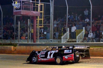 Dale McDowell claimed a $3,000 victory at Boyd's Speedway. (photobyconnie.com)