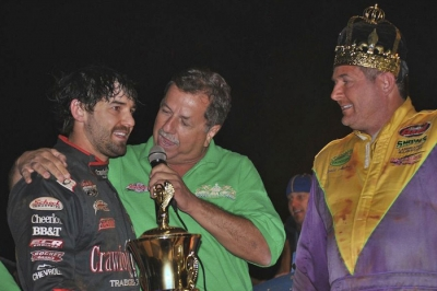 Jared Landers (left) was declared the Carolina Crown winner after Scott Autry's (right) disqualification. (DirtonDirt.com)