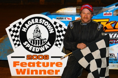 Jim Yoder won his first at Hagerstown. (wrtwebdesigns.com)