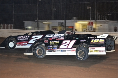 Brandon Dewitt (2) held off Ivedent Lloyd Jr. (21) late at Waycross. (Troy Bregy)