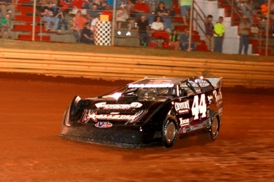 Chris Madden heads for victory at Swainsboro. (BSO Photos)