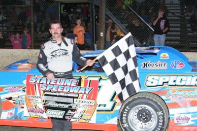 Robbie Blair captured his ninth career ULMS victory. (Bill Galford)