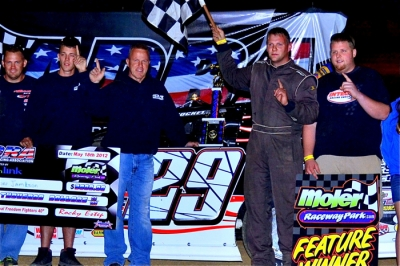 Jason Jameson earned $3,000 for his ADRA victory. (sraracingphotos.com)