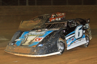 Steve Shaver heads to victory at VMS. (Lee Hardie)