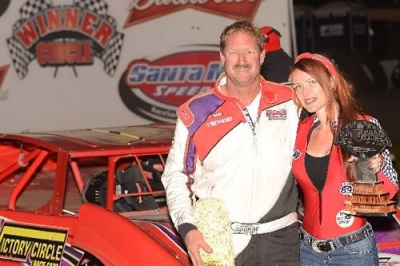 John Lowrey earned $5,000 for his flag-to-flag victory at Santa Maria. (photofinishphotos.com)