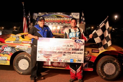 Jeff Walston picked up his first career PCRA victory at Clarksville, Tenn. (JAB Creations)