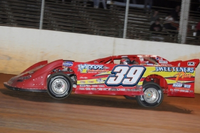Tim McCreadie heads for victory at Hagerstown (Jason Shank)
