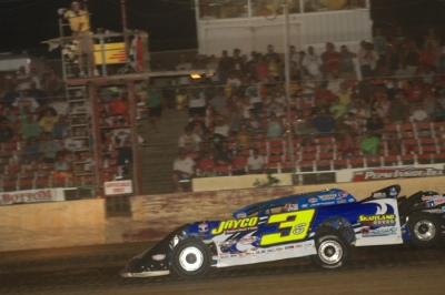 Brian Shirley claims victory at Quincy. (stlracingphotos.com)