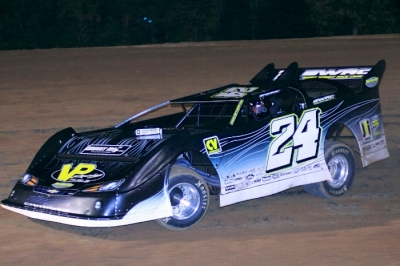 In just his third Late Model start, Sean Jones won Friday at I-30 Speedway. (Best Photography)