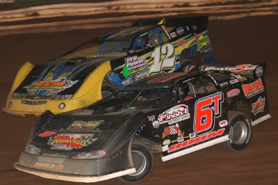 Rick Williams (12) outran Tim Dohm (6T) to earn $4,000. (Todd Battin)