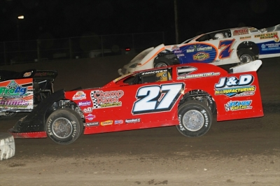 Jake Redetzke heads for victory in Brown County's Larry Gerlach Memorial. (crpphotos.com)