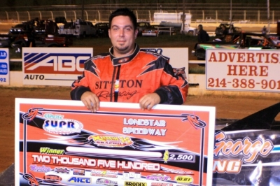 Kevin Sitton celebrates his SUPR victory at Lone Star. (Best Photography)