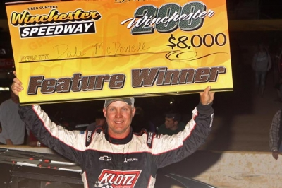 Dale McDowell earned $15,000 for his weekend sweep at Winchester. (pbase.com/cyberclash)