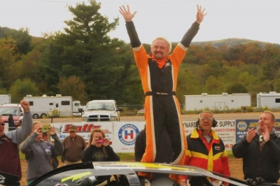 Rich Gardner emerges victorious at McKean County Raceway. (Joe Nowak)