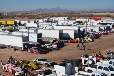 Central Arizona Raceway in Casa Grande is set to host the Wild West Shootout for the first time since 2008. (DirtonDirt.com)