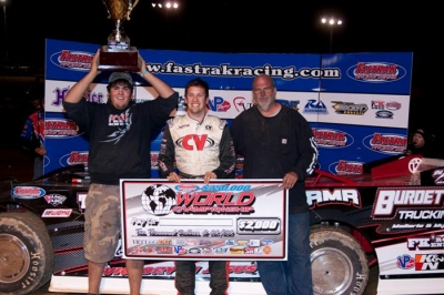 Chris Ferguson won a Friday semifeature at Beckley. (peepingdragonphotography.com)